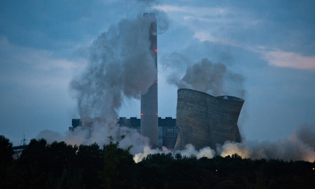 Demolition of Didcot power station
