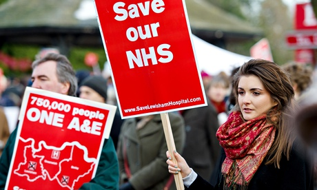 Save Lewisham Hospital Campaign demo