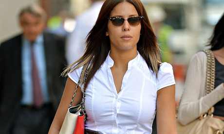 Nawal Msaad arrives at the Old Bailey in London, 8 July 2014.