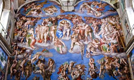 Sistine Chapel: The Last Judgement by Michelangelo