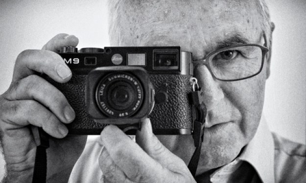 naughton with leica