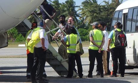 Cocos Islands airport