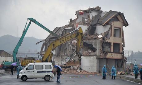 demolish
