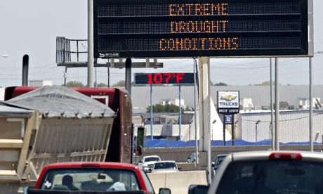 Texas drought warning