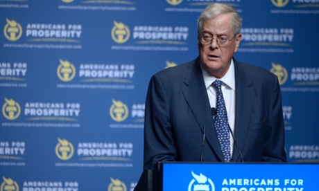 Americans for Prosperity Foundation Chairman David Koch in 2013.