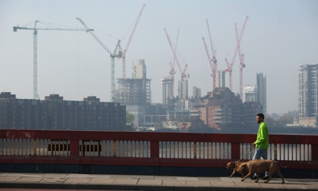 A view of the Nine Elms redevelopment, which is getting a £2bn transformation into luxury flats.