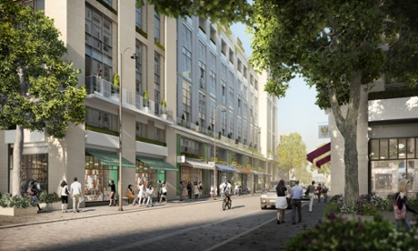 The £8bn redevelopment plans for Earls Court extend across an area of 30 hectares.