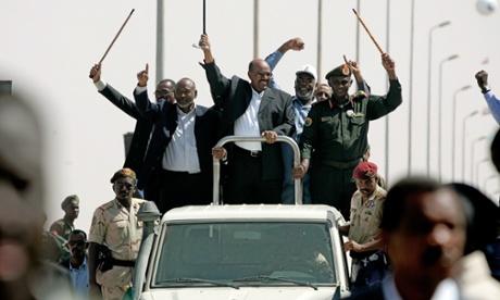 Sudanese president Omar al-Beshir