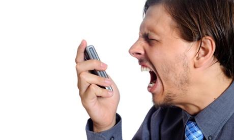 phone anger