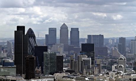 City de Londres e Canary Wharf