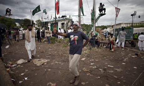 Supporter of Imran Khan