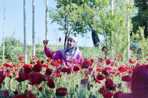 Diab's wife, Ietedal, in 1989