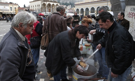 Athens soup kitchen