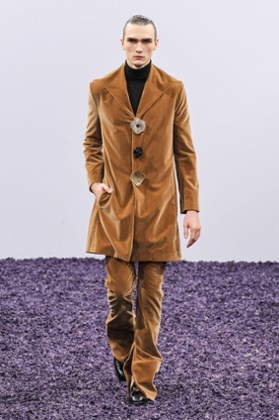 JW Anderson fashion show, London Collections Men, January 2015.