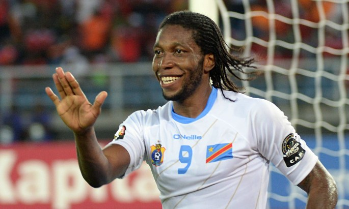 Dieumerci Mbokani Congo 24 DR Congo Africa Cup of Nations quarterfinal