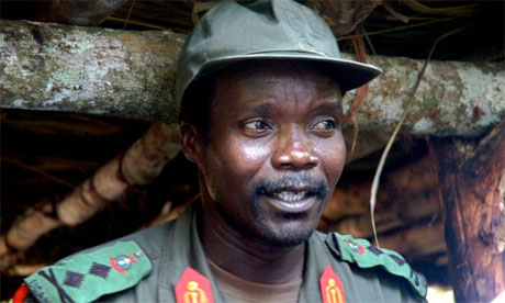 Joseph Kony, leader of the Lords Resistance Army