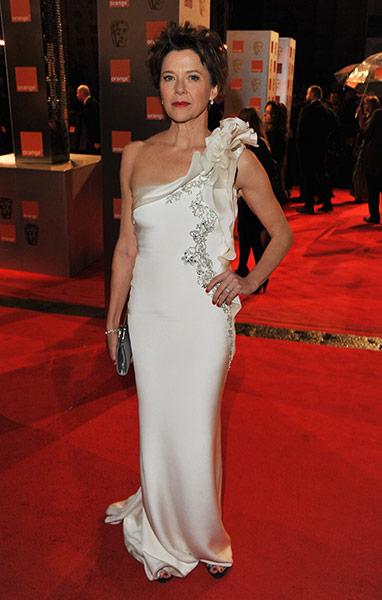 Baftas 2011: fashion: Annette Bening at the Baftas
