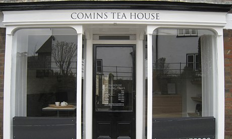 Comins Tea Room in Sturminster Newton, Dorset
