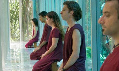 An Osho Vipassana retreat