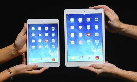 Novos iPads mini 2 e o novo iPad Air