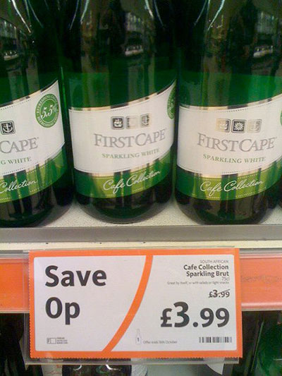 Daft Deals 051111: Wine offer in Morrisons, Newcastle