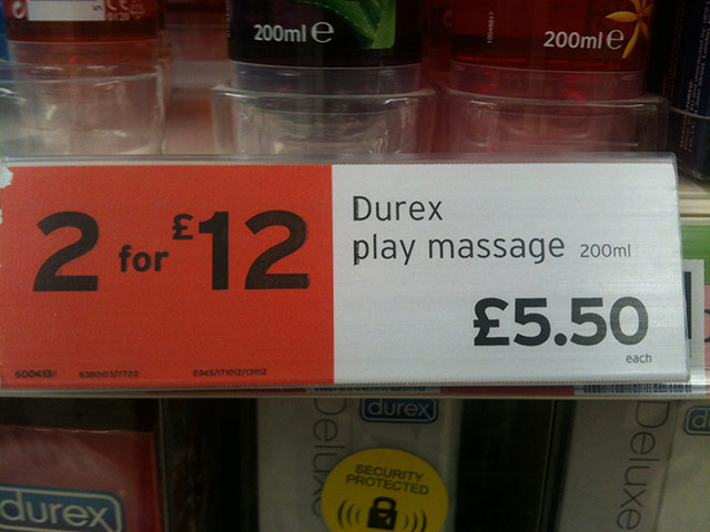 Daft deals: Daft deal in Sainsbury's in Sheffield
