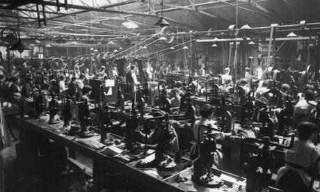 Oficina industrial inglesa