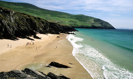 Republic of Ireland, Kerry county, Dingle peninsula, Sleahead beach