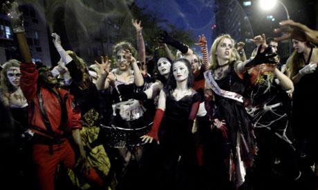 Thriller Halloween parade