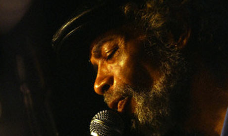 Gil Scott-Heron in performance at New York's Blue Note Jazz Club, August 2009