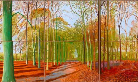 hockney woldgate woods