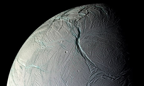 enceladus saturn moon surface