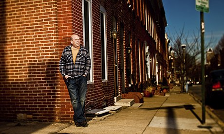 The Wire creator David Simon in Baltimore