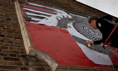 American street artist Frank Shepard Fairey