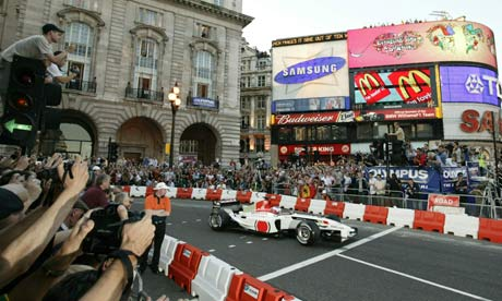 Formula One Regent Street Parade, London