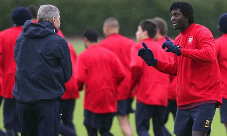 Can Arsene manage without replacing Adebayor?