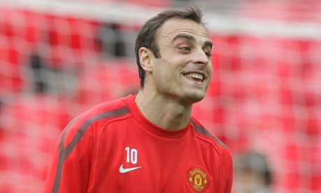 Dimitar Berbatov faces an uncertain future after missing out on the Champions League final squad