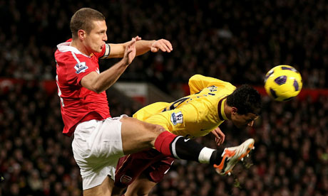 Nemanja Vidic Manchester United Arsenal