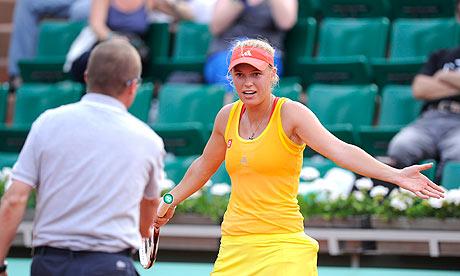 Caroline Wozniacki French Open