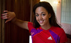 Britain's Katarina Johnson-Thompson aiming London 2012