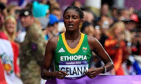 Ethiopia's Tiki Gelana