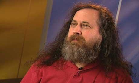 Richard Stallman, creator of the GNU computer operating system