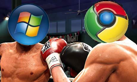 Google vs Microsoft 001 ডাউনলোড করুন গুগলের প্রথম অপারেটিং সিস্টেম Chrome OS। মাত্র 606 MB।  | Techtunes