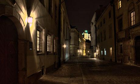 Ulica Kanonicza Krakow