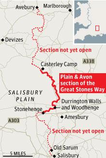 Stones map