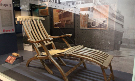 Deckchair at Museum of the Atlantic, Halifax.