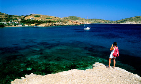 Lipsi Island, in the Dodecanese