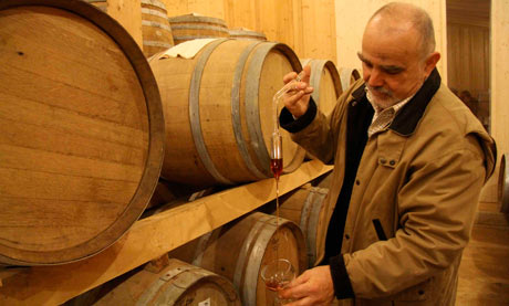 Josko Sirk, owner of La Subida, Collio