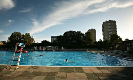 Brockwell Lido, London. Photograph: Peter Macdiarmid/Getty