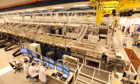 Solyndra factory